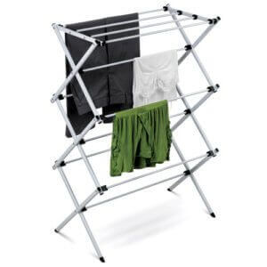 Deluxe+Metal+Drying+Rack+in+Silver