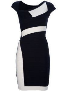 1644-Herve-Leger-women-s-Amber-colour-block-dress-1