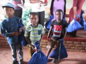 Cedar Valley Church Donates Clothes and Clean Laundry Bags