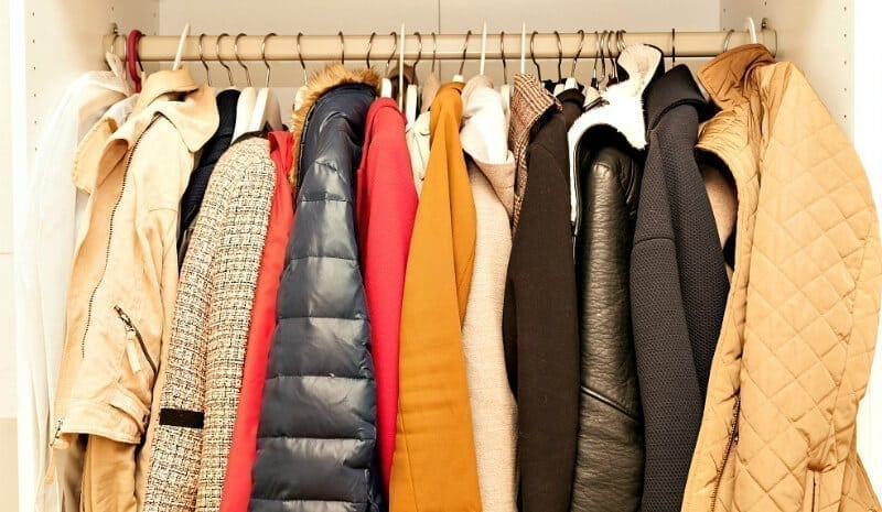 how to store winter clothes