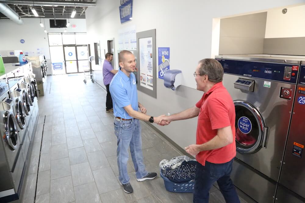 licensing a clean laundry store