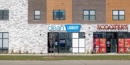 Clean Laundry Laundromat 1st Ave Cedar Rapids Storefront