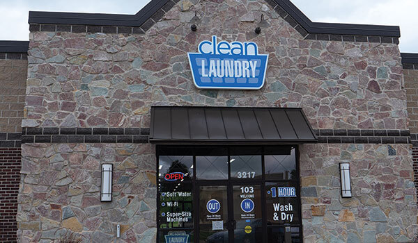 Clean Laundry storefront on 7th Ave in Marion, IA
