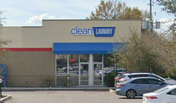 Clean Laundry storefront on West Vine in Kissimmee, FL