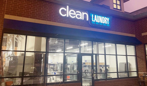 Clean Laundry Laundromat Storefront, St, Anthony MN