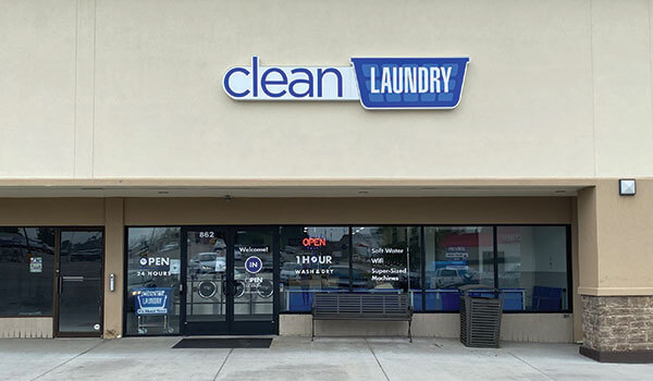 Clean Laundry storefront in Liberty, MO