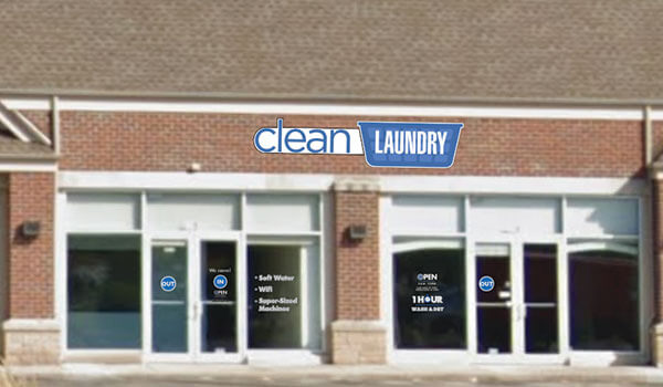 Clean Laundry storefront in West Milwaukee on Miller Park Way