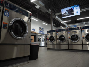 Lavandería limpia en Milwaukee, Wisconsin