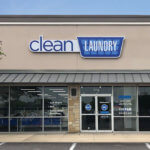Clean Laundry laundromat storefront in Austin, TX on Norwood Park Blvd