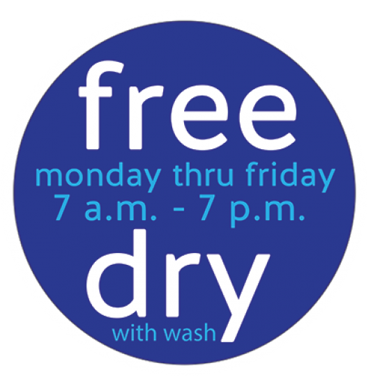 Free Dry at Clean Laundry Laundromat - Waterloo, Iowa